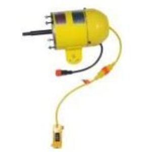 Jan Fan JF-110V-HEM-DCS Motor, 1/4 HP, High Efficiency, 115V, 2 Speed Drop Cord Switch