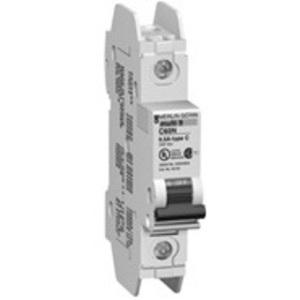 Square D 60110 Breaker, Miniature, 10A, 240V, 1P, DIN Rail Mount, Lug In, Lug Out