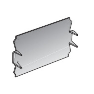 """EGS SP-100 Safety Plate, 2.50 x 1.53"""", Steel"""