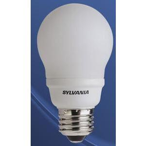 SYLVANIA CF14EL/A19/827/RP Compact Fluorescent Lamp, A19, 14W, 2700K