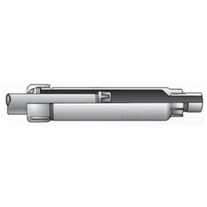 "OZ Gedney AX-200A Rigid Expansion Coupling, 2"", 4"" Movement, Aluminum"