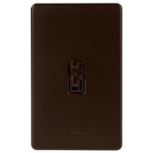 Lutron AYCL-153PH-BR Dimmer, Ariadni, CFL/LED/Incandescent/Halogen, 150/600W, Brown