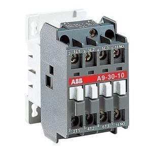 ABB A16-04-00-84 Contactor, 30A, 4P, 600VAC, IEC, 120VAC Coil
