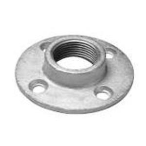 "Dottie FF150 Floor Flange, Threaded, 1-1/2"", Malleable Iron"