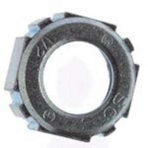 "Thomas & Betts BU-510 Conduit Bushing, Insulating, 4"", Threaded, Plastic"