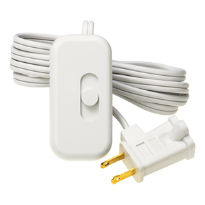 Lutron TT-300H-WH Credenza Plug-In Dimmer, White