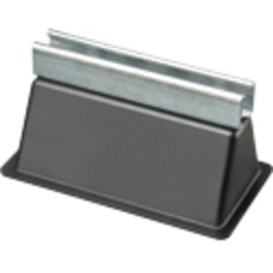 "Arlington RTS4 Rooftop Support with Channel, 9"" x  5-5/8"", Rubber/Steel"