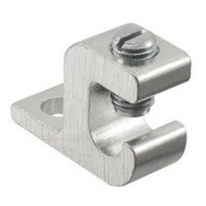 Ilsco GBL-4 Aluminum Lay-In Lug, Aluminum, 14 - 4 AWG