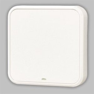 "Nutone LA202WH Door Chime, Wired, Type: Decorative, (H)8.375"" x (W)8.375"" x (D)2"""