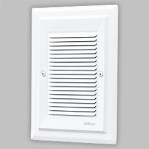 Nutone LA174WH Recessed Chime, Flush Mount, 16V Transformer, Non-Metallic, White