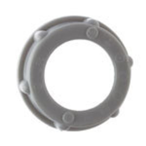"Steel City BU-501 Conduit Bushing, Insulating, 1/2"", Threaded, Plastic"
