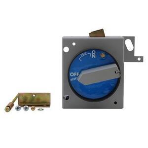 GE TEFR1HB Breaker, Molded Case, Handle Mechanism, Horizontal Mount, NEMA 12