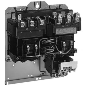 Allen-Bradley 505-TOD Starter, Open, Size 00, Reversing, 600VAC, 9A, 120VAC Coil