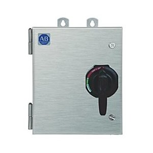 Allen-Bradley 1232X-FNB-A1N-28R Pump Panel, NEMA 5, 270A, 480VAC Coil, Disconnect Switch, NEMA 3R