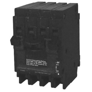 Siemens Q22020CT2 Breaker, 20/20A, 2P, 120/240V, 10 kAIC, Type QT, Common Trip