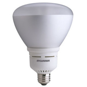 SYLVANIA CF23EL/BR40/830 Compact Fluorescent Lamp, BR40, 23W, 3000K