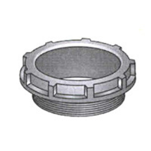 "OZ Gedney BB-75 Conduit Bushing, Insulating, 3/4"", Threaded, Thermoplastic"