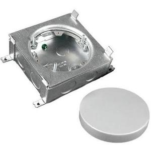 "Wiremold 885B Floor Box Assembly, Round, Diameter: 4-13/16"", Steel"