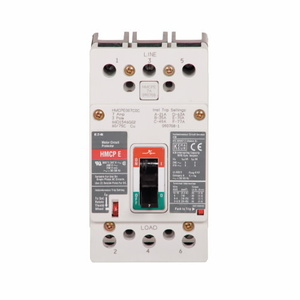 Eaton HMCPE007C0C Breaker, Molded Case, 7A, 3P, 600V, 250 VDC HMCP