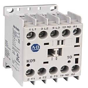 Allen-Bradley 100-K12D400 Contactor, Miniature, 12A, 4P, 120VAC Coil, 4NO/0NC Main Contact