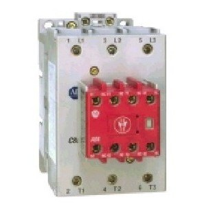Allen-Bradley 100S-C60J14BC Contactor, Safety, 60A, 3P, 24VAC Coil, Bifurcated Contact