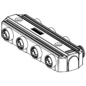 Woodhead DN6100 MC MPIS DN PASS-THRU 6