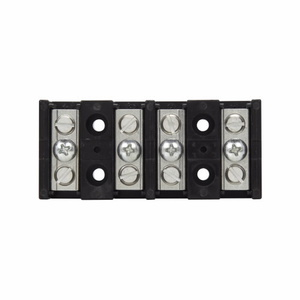 Eaton/Bussmann Series 14002-4 Barrier Terminal Block, 4-Pole, 115A, 600V, 14 - 2 AWG