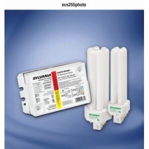 SYLVANIA QTP-2X26CF/UNV-DIM Dimming Ballast, Compact Fluorescent, 2-Lamp, 26W, 120-277V