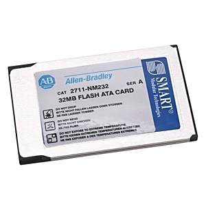 Allen-Bradley 2711-NM232 Memory Card, ATA Flash, 32MB