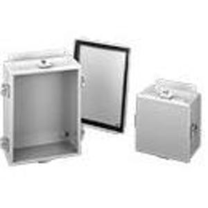 """Hoffman A1210NF Enclosure, NEMA 4, Cover With Clamps, 20"""" x 20"""" x 6"""""""