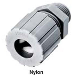 "Hubbell-Kellems SHC1037CR Cord Connector, Straight, Male, 3/4"", Nylon"