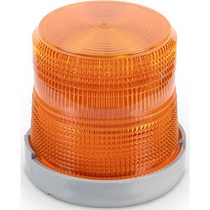 Edwards 96BA-N5 Beacon, Type: Xenon Flashing, 120V AC, 0.1A, Amber, Non-Metallic