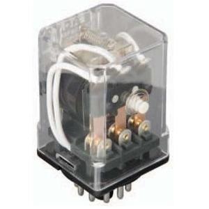 Eaton D3PR3A Relay, Ice Cube, D3, 11 Pin, 16A, 120VAC, 3PDT, General Purpose