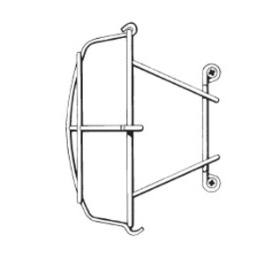 Mulberry Metal 30027 WIRE GUARD FOR 30010