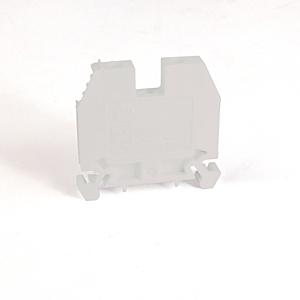 Allen-Bradley 1492-W6-W Terminal Block, 40A, 600V AC/DC, White, 6mm, Space Saver