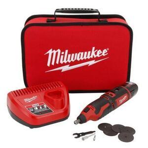 Milwaukee 2460-21 M12 Cordless Rotary Tool