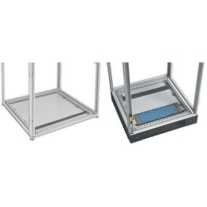 Hoffman PGP105 Gland Plate, Type: EMC, Frame Width: 1000 mm, Frame Depth: 500 mm