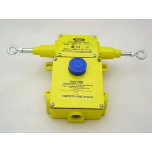 Rees 04964-204 Safety Switch, Cable Operated, Right/Left Hand Pull, 2NO/NC Contact