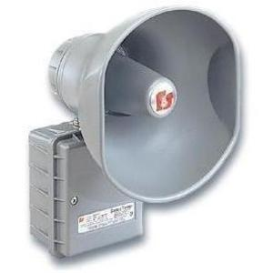 Federal Signal 300GC-120 Speaker Amplifier, 120V AC, Type 3R Enclosure, Gray