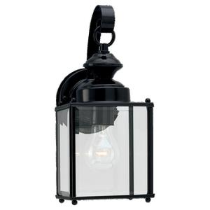 Sea Gull 8457-12 Lantern, Outdoor, 1 Light, 100W, Black
