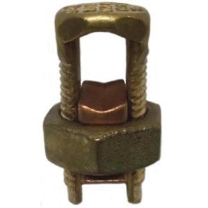 Ilsco IK-1/0 Split Bolt Connector, Copper, 4 - 1/0 AWG