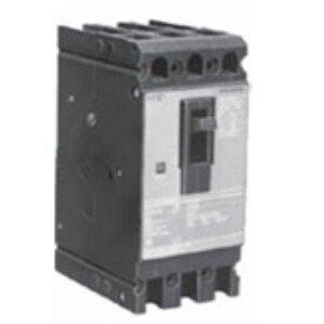 Siemens ED43B125L Breaker, Molded Case, 3P, 125A, 480VAC, Type ED4, with Lugs