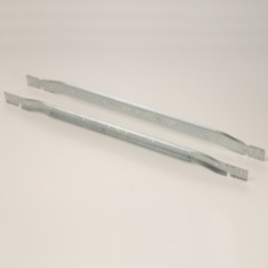 "Cooper B-Line BA40 Light Fixture T-Bar Fastener, Length: 24"", Steel"