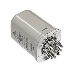 SE Relays 750XCXH-24D Relay, Ice Cube, Hermetic, 11-Pin, 3PDT, 12A, 24VDC Coil, Octal