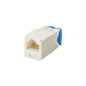Panduit CJ6X88TGAW Mini-Com Module, Cat 6A, UTP, 8 pos 8 wi