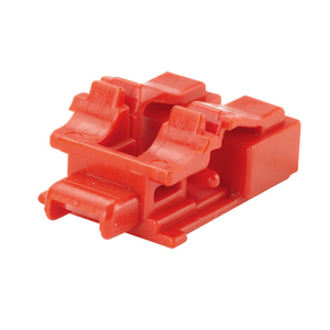 Panduit PSL-LCAB LC Duplex Adapter, Block-Out Device, Red, w/Tool, 10 per Pack