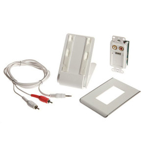 ON-Q AU5015-WH Lyriq Ipod Charge And Play Kit Wh