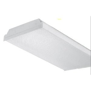 Oracle Lighting 4OIW232T8120 Fluorescent Wrap Fixture, 4', 2-Lamp, T8, 32W, 120V