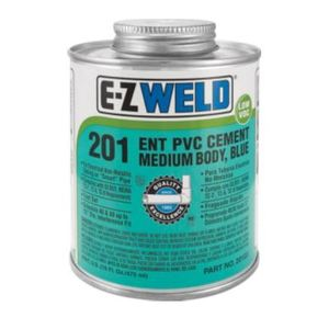 E-Z Weld 20103 ENT Blue Cement, Pint
