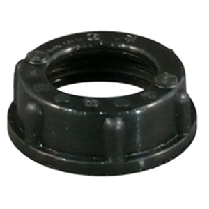 "Appleton BBU-350 Conduit Bushing, Threaded, Insulating, 3-1/2"", Thermoplastic"